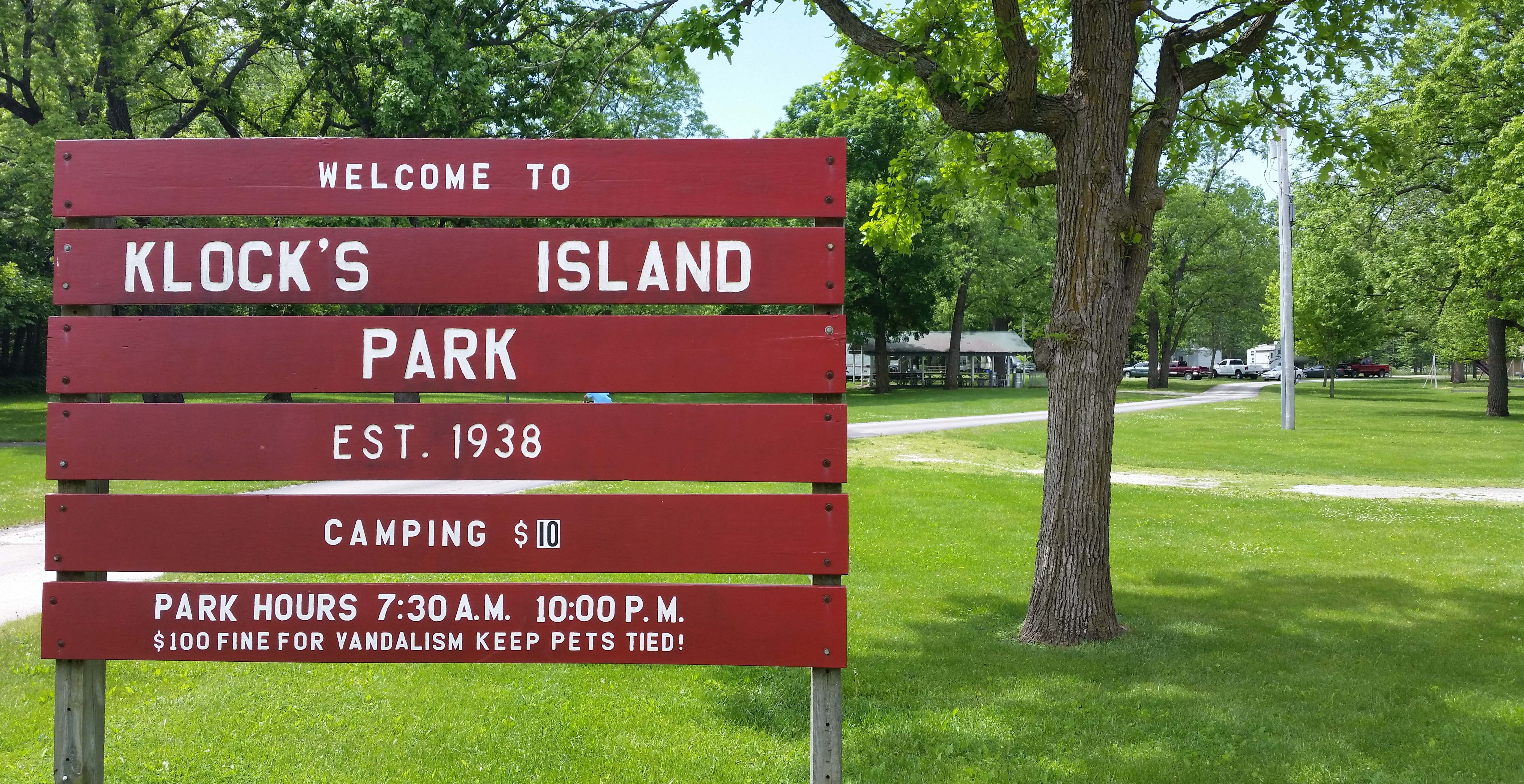 Klock's Island Park & Campground Now Open After Flood