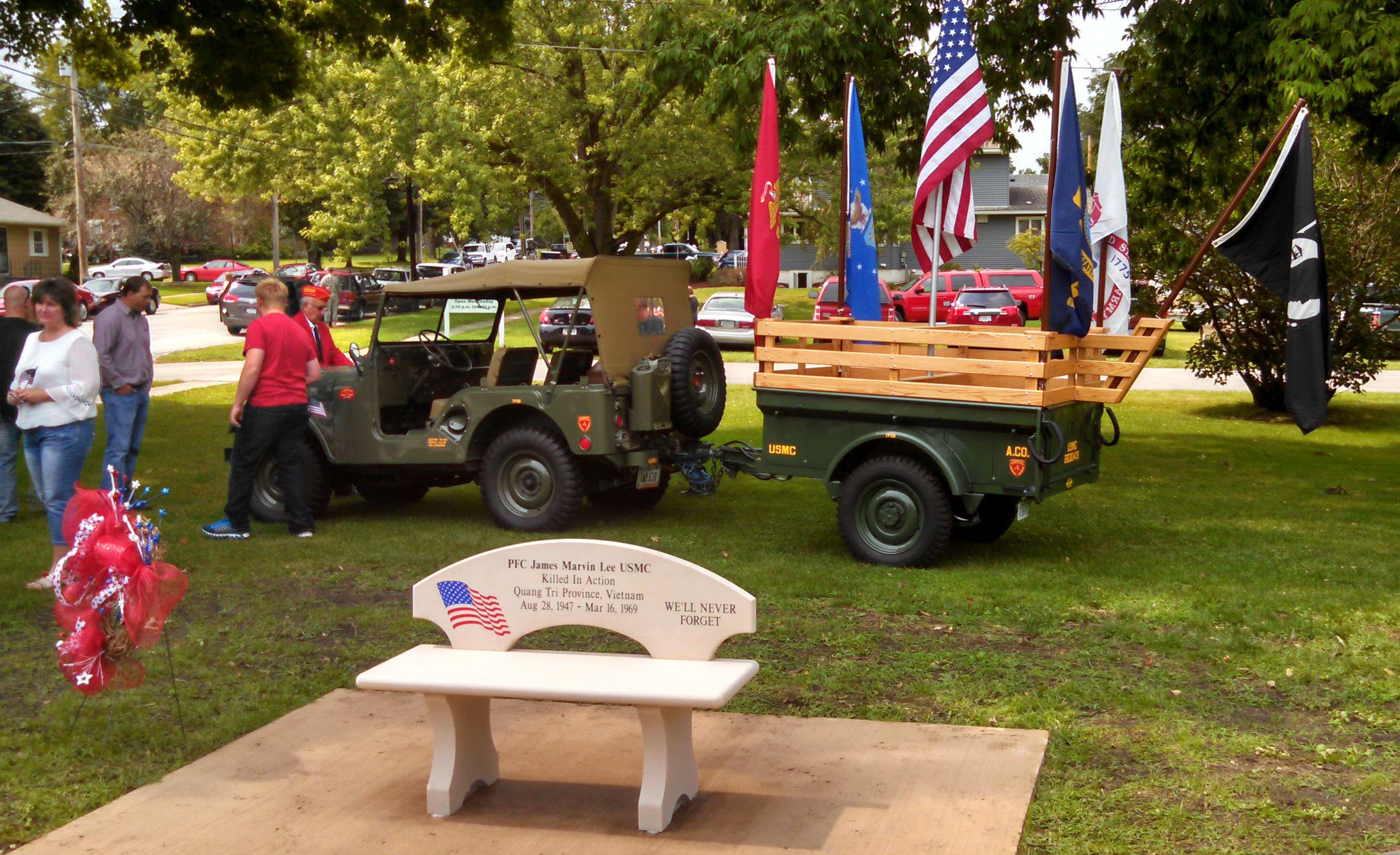 8 29 15 Lee Memorial Dedication 2